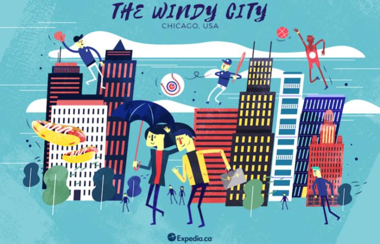 The Windy City- Chicago, City Nicknames