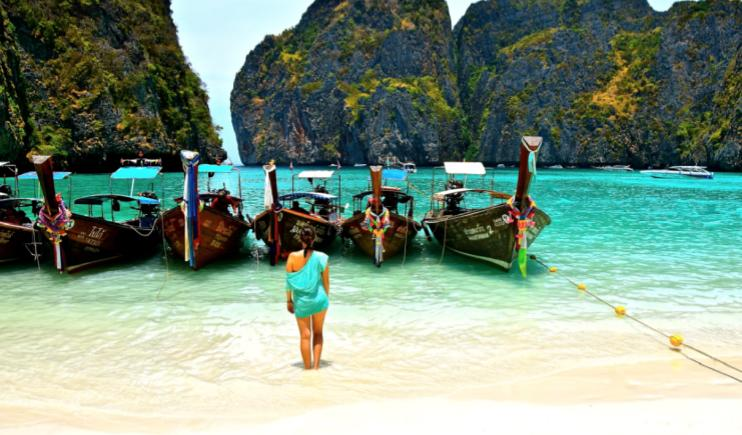 Nothing quite as relaxing as Island Hopping in Thailand