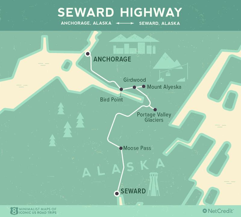 Seward Highway- Epic American Road Trips