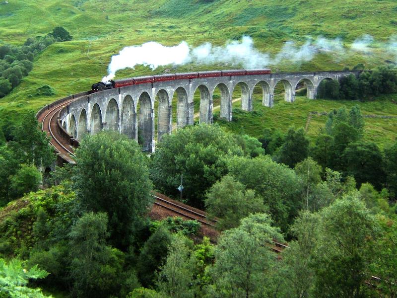 The Hogwarts Express, Scotland- Movie Locations