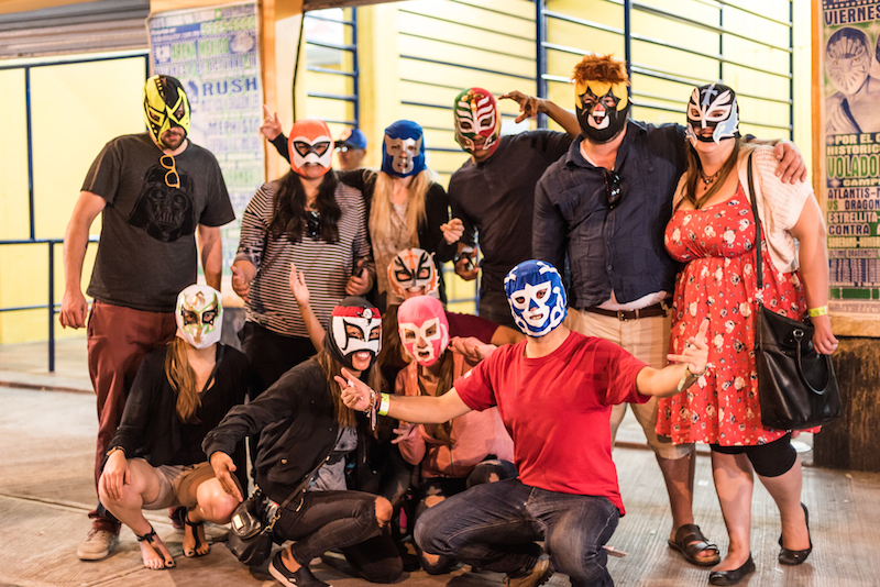 You can't miss out on the famous Lucha Libre when you're in Mexico City