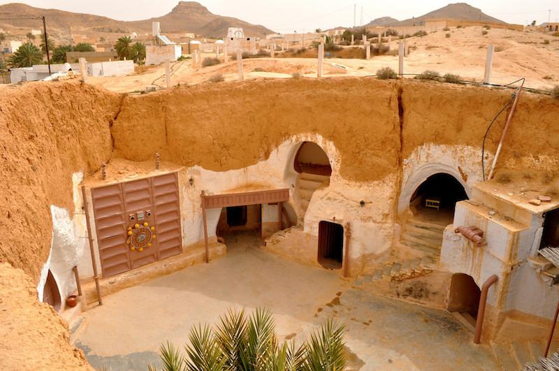Star Wars A New Hope: Matmata, Tunisia- Movie Locations