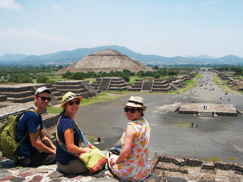Take a trip to the Teotihuacan Pyramids- Mexico City