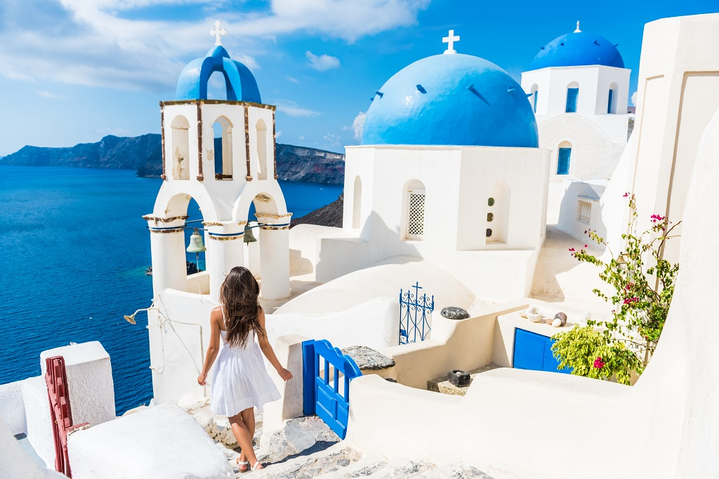 The island of Santorini- A destination being destroyed by tourism