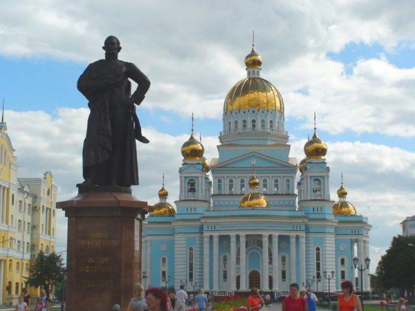 Cathedral of St. Theodore Ushakov, Saranks