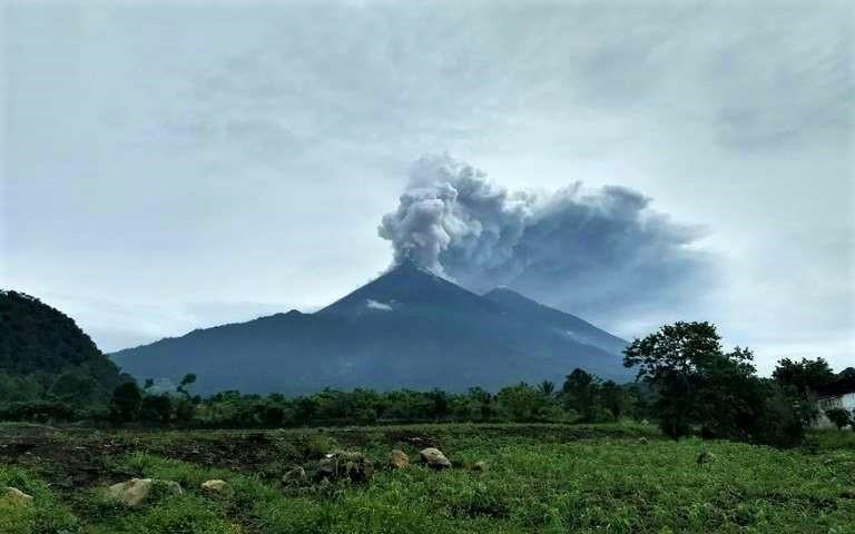 Guatemala Travel News – Volcán de Fuego Eruption