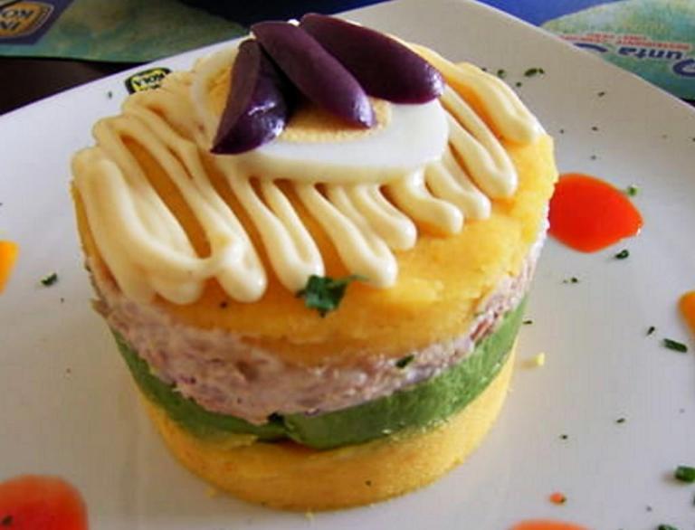 La Causa a popular Peruvian Food
