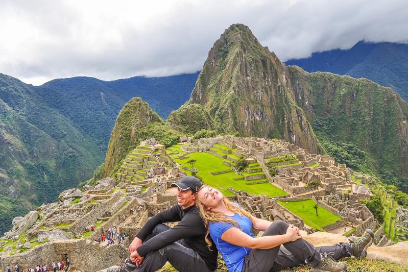 Machu Picchu with Bamba