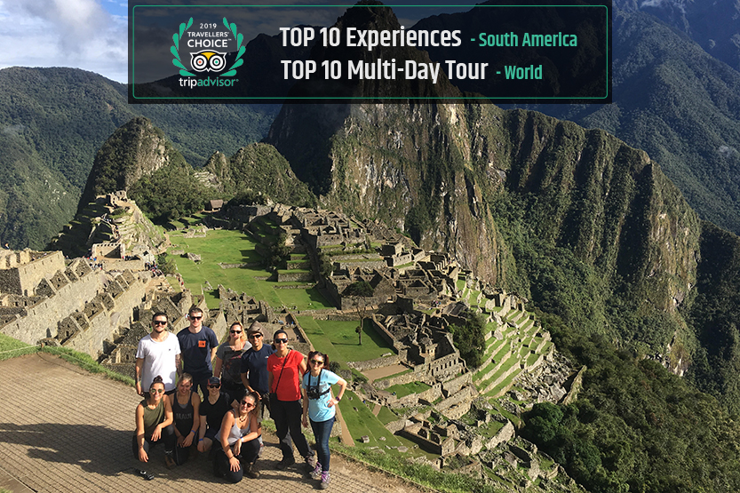 Inca Trail Trek wins Travellers' Choice on TripAdvisor