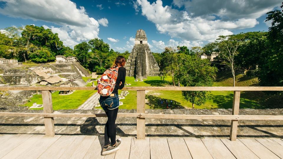 Girl in Tikal, Guatemala