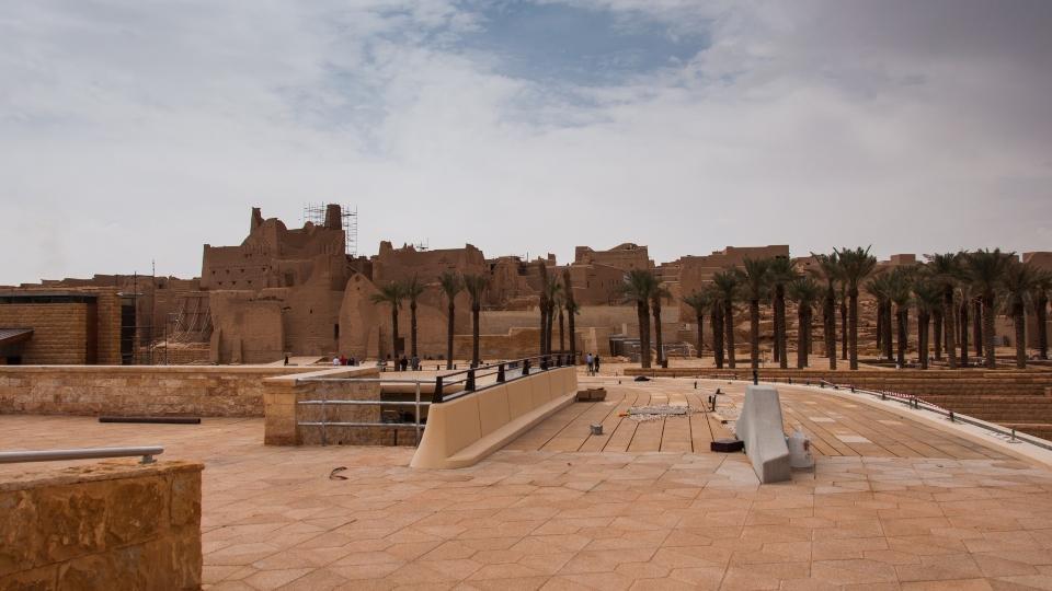 Old At-Turaif district near Ad Diriyah, Saudi Arabia.