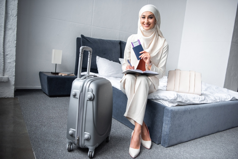 The top countries for female Muslim solo travellers