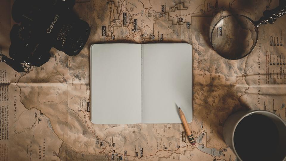 travel journal planning