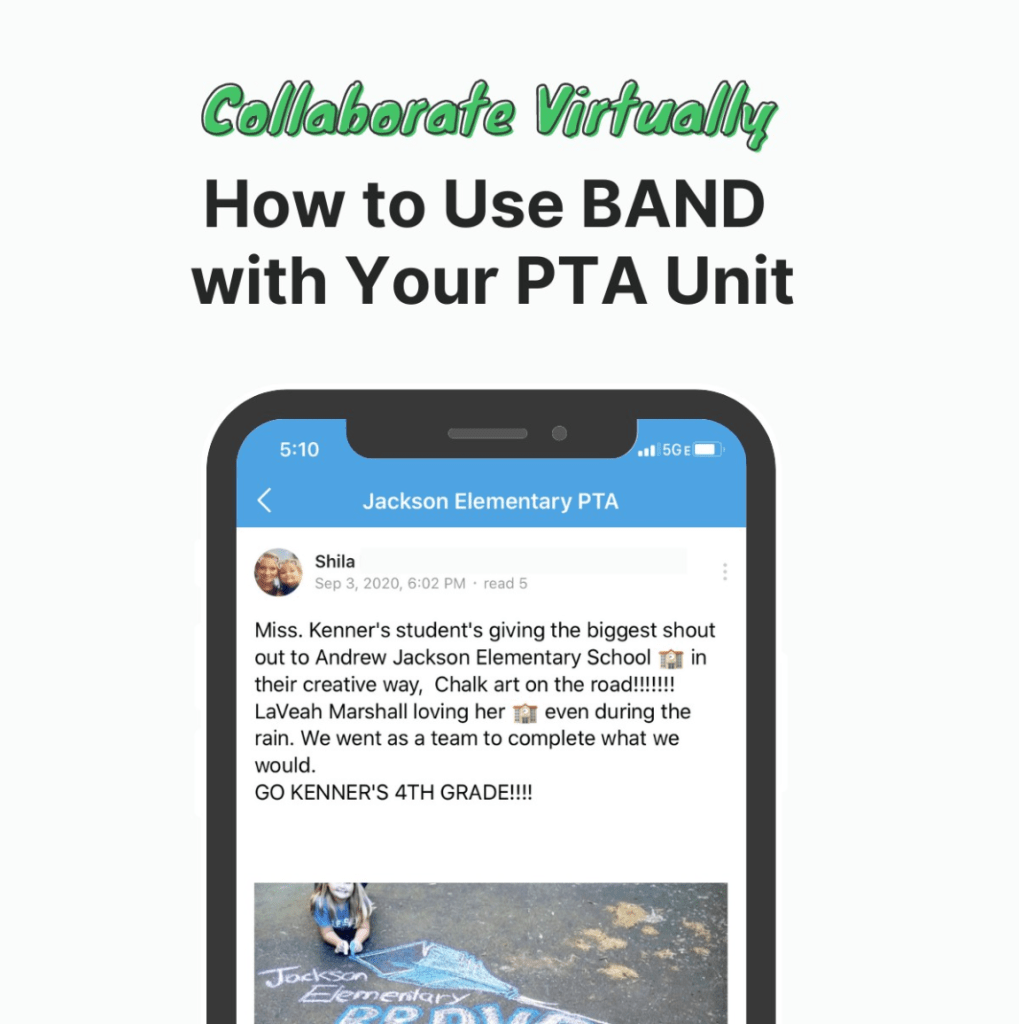 Organize your PTA with BAND!