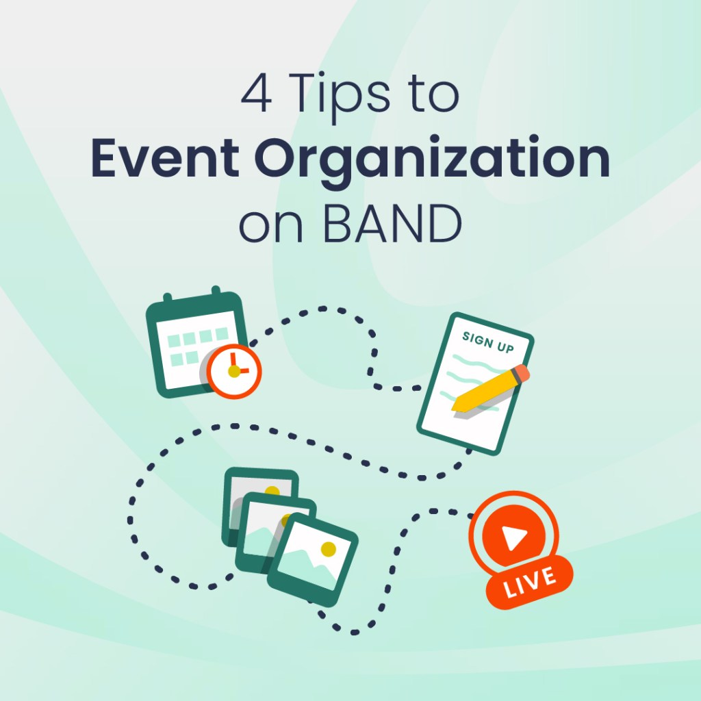 tips to event organization