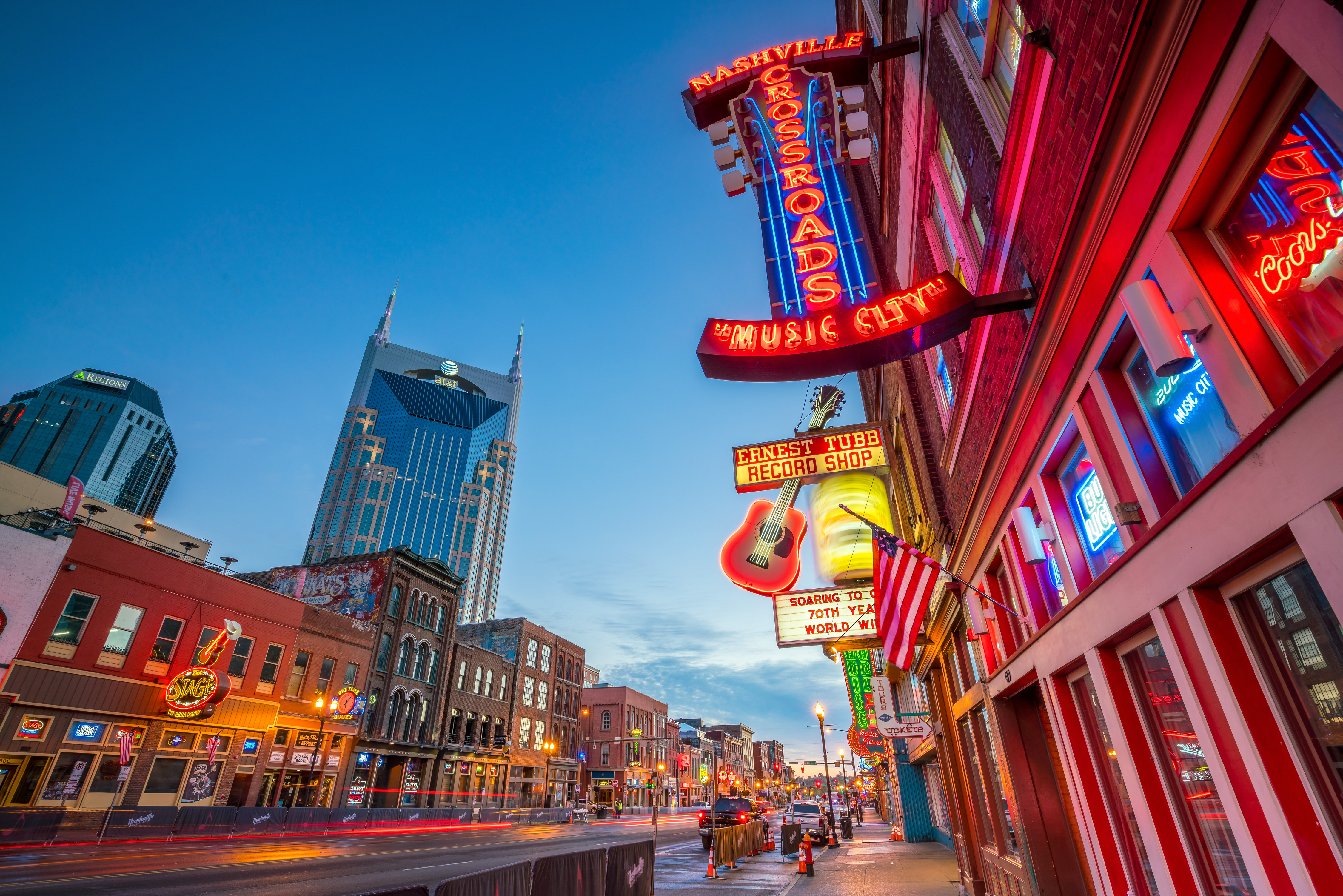 top cities for musicians