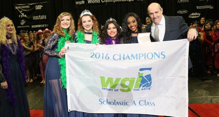 WGI 2016 Champions Scholastic A Class Bellevue West