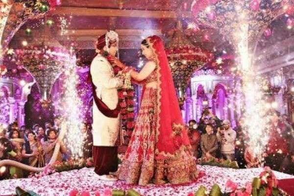 Lavish wedding ceremony