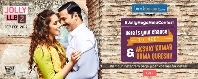 Grab Your Chance To Meet Jolly LLB 2 Stars Akshay Kumar & Huma Qureshi
