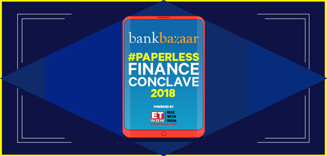 BankBazaar Paperless Finance Conclave
