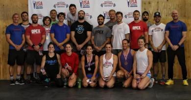 2017 USA Functional Fitness National Team