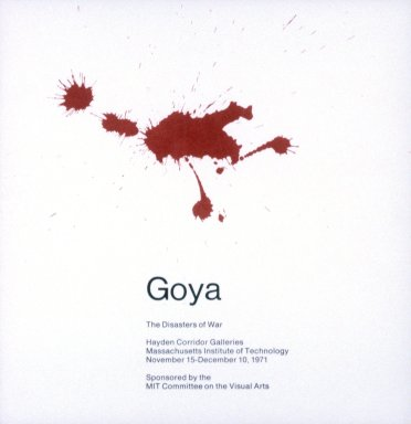 Goya, the Disasters of War Exhibition, 1971.