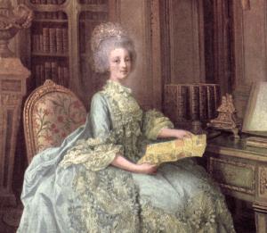 Qu'ils lisent des romans graphiques! - Let them read graphic novels! -Marie Antoinette