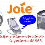 No te lo pierdas: ¡Llévate un producto Joie totalmente Gratis!