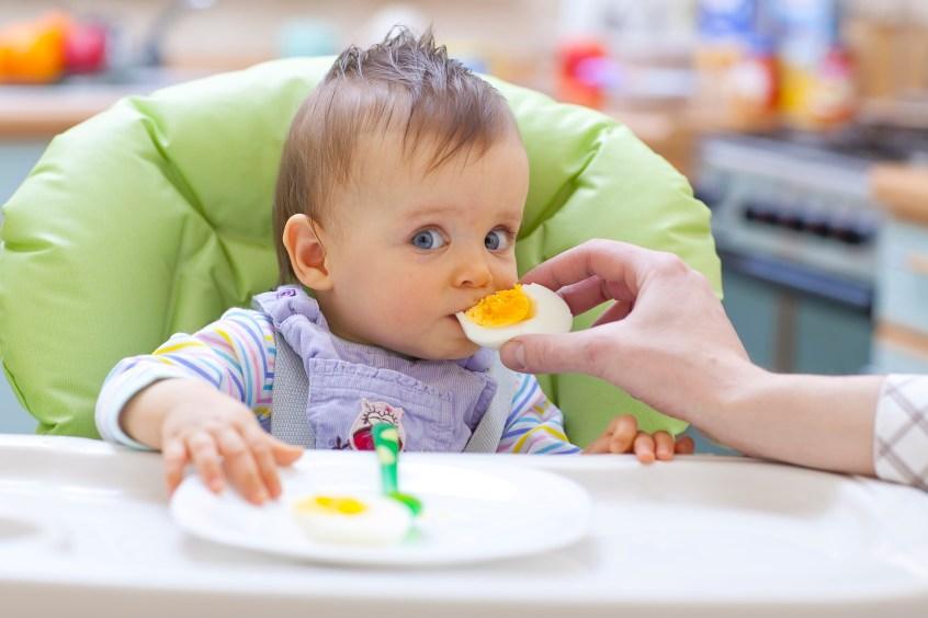 Alergias alimentarias en bebes