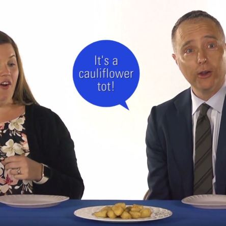 What do cauliflower tots taste like?