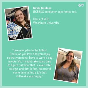 College advice feature - Kayla Gardner