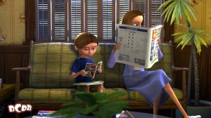 Easter Egg Featuring The Incredibles