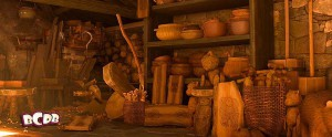Sully From Moinsters In in Pixar's Brave