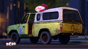 Toy Story 2 Pizza Truck