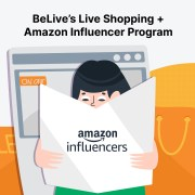 How The Amazon Influencer Program Works Perfectly With BeLive's Live Sales Feature