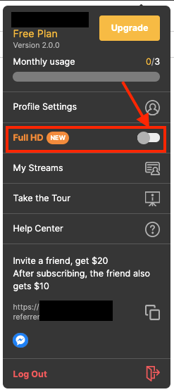Streaming HD quality broadcast on Facebook Live with BeLive