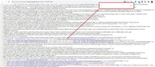 An instruction on what window you should see once you start looking for the keywords. Pointing out the search bar