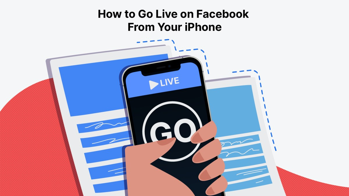 How to Go Live on Facebook From Your iPhone