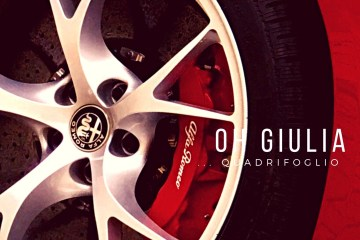 Probefahrt mit der neuen Giulia von Alfa Romeo