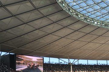 Frankfurter Jungs - die Nordwestkurve im Berliner Stadion