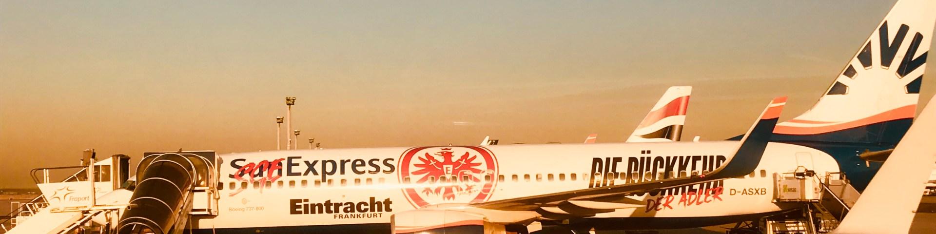 Beachtime Travelling reist mit Eintracht Frankfurt durch Europa