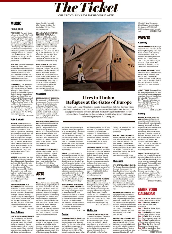 Boston Globe Whole Page