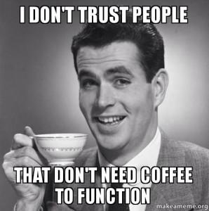 Drinking Too Much Espresso