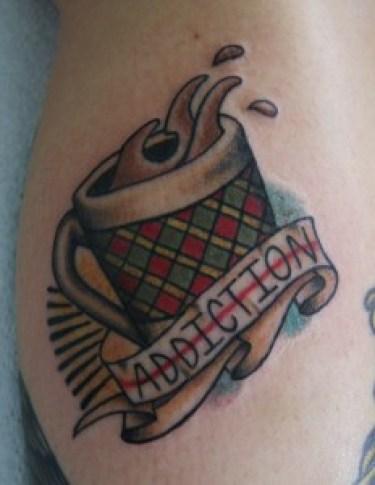 flash coffee tattoo
