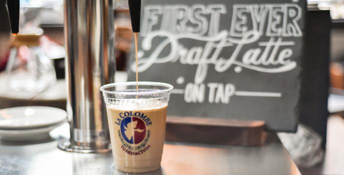 Draft iced latte