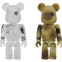 9/4 発売のベアブリック(BE@RBRICK) -MY FIRST B@BY BLACK & SILVER 1000% & UNKLE CLEAR 400% & UNKLE CLEAR & UNKLE CAMOUFLAGE