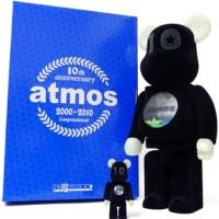 ATMOS 10th Anniversary 100% & 400% ベアブリック(BE@RBRICK)[情報]