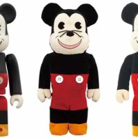 WORLD WIDE TOUR 2 MICKEY MOUSE 100% 400% 1000% ベアブリック(BE@RBRICK)[情報]