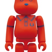 FRED PERRY 60th Anniversary BEAMS Ver ベアブリック(BE@RBRICK)[ネット発売]