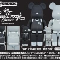 "GOODENOUGH ""Classics"" 100% 400% ベアブリック (BE@RBRICK) [情報]"